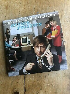 The Divine Comedy 'Office Politics' Deluxe Double CD Set As New