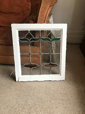 6 Identical 1920s Stained Glass Windows