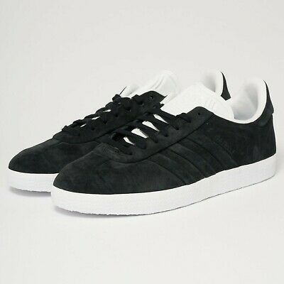 adidas Originals Gazelle Stitch & Turn CQ2358 Black Casual Trainers UK 6 - 10.5