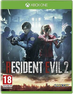 Resident Evil 2 (2019 Remake) - XBox One Game Disc - Excellent Condition