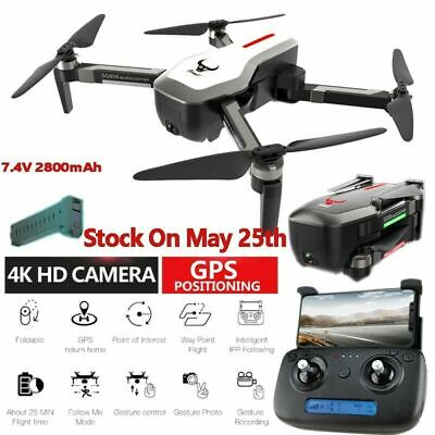 SG906 GPS 5G WIFI FPV 4K HD Dual Camera Brushless Foldable RC Drone Quadcopter