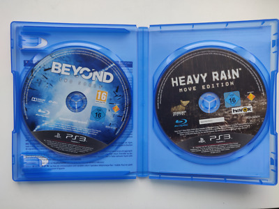 Beyond two souls + Heavy rain - Playstation 3 / PS3 - VF