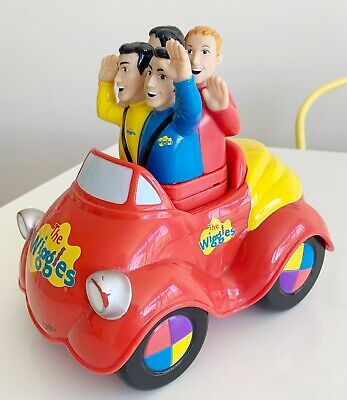 The Wiggles Big Red Car 2003 Collectable Musical Singing Push & Go Toy