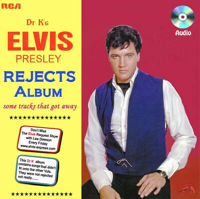 "Elvis Presley ""The Rejects Album"" (2019) - 31 Track Cd Of Outtakes & New Mixes"