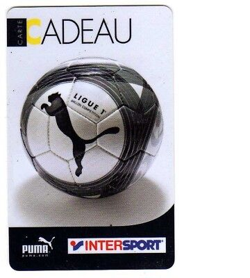 Carte Cadeau Intersport.Jolie Carte Cadeau Intersport Ballon Ligue 1 Puma Voir Photo