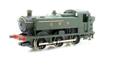 Graham Farish Oo Gauge Class 94 Xx Saddle  Tank Locomotive Gwr Green (Vs17)