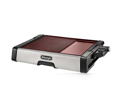 DeLonghi Indoor Grill and Griddle with Ceramic Plate,  - Bronze