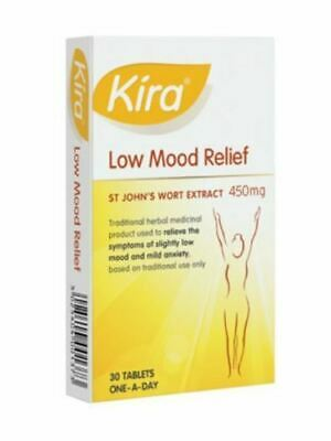 Kira Low Mood Relief Tablets 450mg (30) (EXP 10/2020)