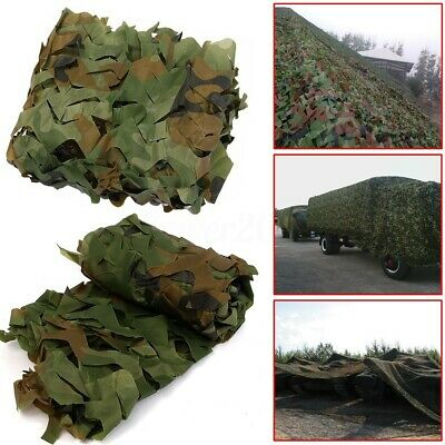 Woodland Camouflage Camo Army Net Hide Netting Camping Military Hunting  !