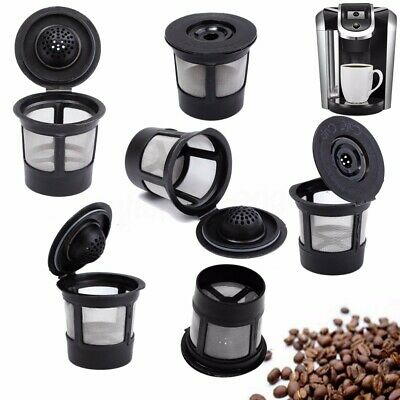 6PCS Reusable Refillable K-Cup Coffee Filter Pod For Keurig K45&K65 Coffee