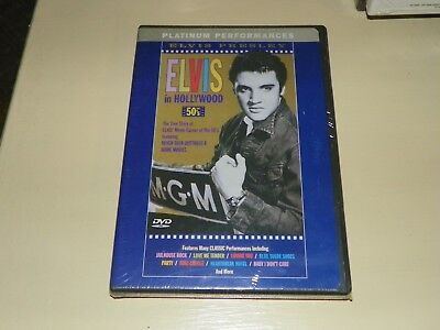 Elvis In Hollywood (DVD, 2000) -BMG. NEW SEALED LAST ONE-FREE PHOTO