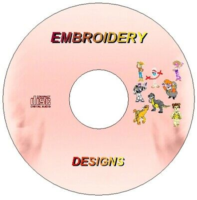 New Disney Toy Story Embroidery Machine Designs Cd Pes Jef Hus Format