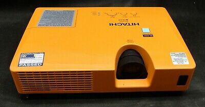 Hitachi ED-X50 VGA 3LCD Projector - Projects Image - Lamp 5047 hrs