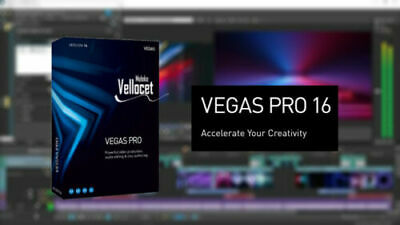 MAGIX Vegas Pro 16 - Lifetime FULL ACTIVATION ✔️ Download Sony Video Editing