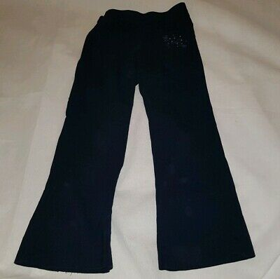 Gorgous navy blue MARKS AND SPENCER boot cut trousers Age 7 years