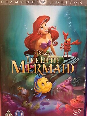 Disney The Little Mermaid Diamond Edition Dvd