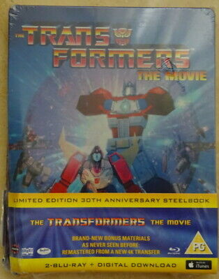 The Transformers The Movie - Limited Edition 30th Anniversary Steelbook Blu Ray