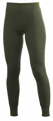 Woolpower Long Johns 200 green XS Hose Thermounterwäsche Merinowolle Pant Wolle