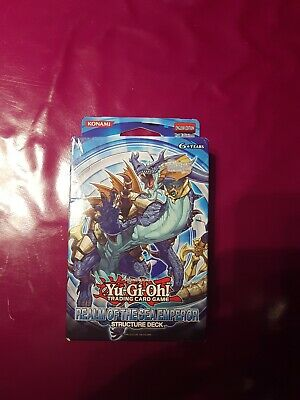 yugioh structure deck real of the sea emperor 1st edition English sealed