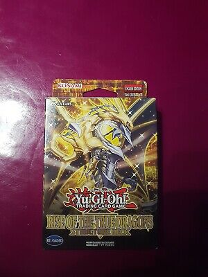 yugioh Rise of the True Dragons Structure Deck 1st Edition Sealed