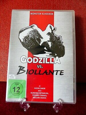 Monster Klassiker:  Godzilla vs. Biollante (Uncut, deutsch, Neu & OVP)