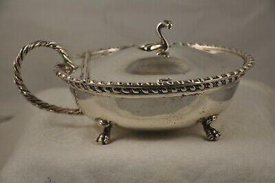 Sauciere Bol Fromage Ancien Argent Massif Antique Solid Silver Italian Sauceboat