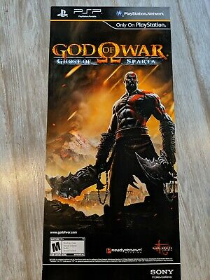 Promotional God Of War PSP Ghost of Sparta double sided Poster