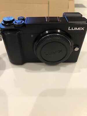 Panasonic LUMIX GX9M 20.3 MP Digital Camera - Black (Kit w/ 12-60mm F3.5-5.6...