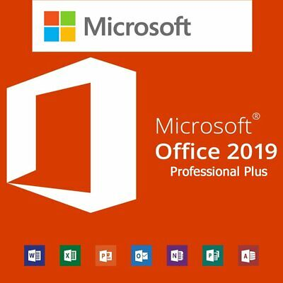 Microsoft Office 2019 Professional Plus Vollversion Lizenz Key mit Download link