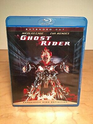 Ghost Rider (Blu-ray) 2007 - Extended Cut) Nicolas Cage - Eva Mendes