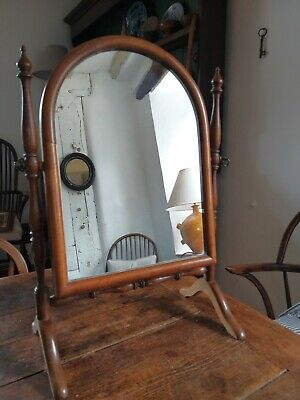 Fantastic Edwardian Harwood Cheval Dressing Table Mirror
