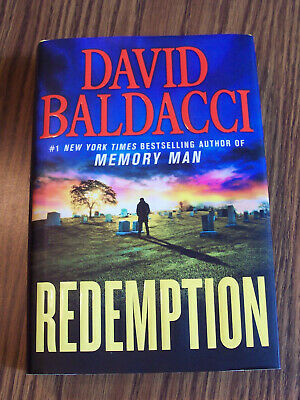 Redemption by David Baldacci-1st Edition Hard Cover-April, 2019