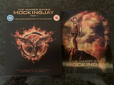 The Hunger Games: Mockingjay Part 1 - Blu-ray Steelbook (with Custom Lenticular)