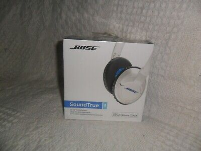 Bose Soundtrue On Ear Headphones For Ipod/Iphone/Ipad - White. New