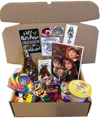 Harry Potter Personalised Sweets Gift Box Poster Hamper
