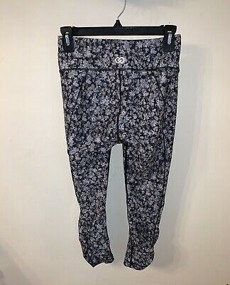 1495a419b47e2 Calia By Carrie Underwood Womens Yoga Ruched Capris Cropped Leggings Size  Small