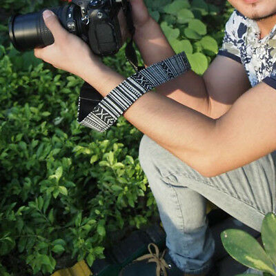 Universal Vintage Shoulder Neck Strap Sling Belt for SLR DSLR ILDC Camera H9A1