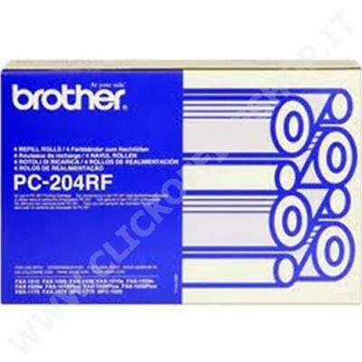 Original Pc-204Rf Black  For Brother Fax Machines