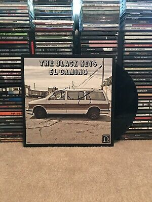 The Black Keys El Camino Signed Vinyl Record And Poster Autographed