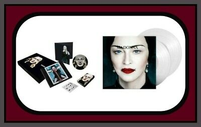Madonna Madame X Clear Vinyl & Super Deluxe Box Set Preorder Sealed