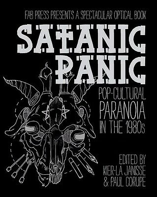 SIGNED hardcover book SATANIC PANIC Pop-Cultural Paranoia in the 1980s. Satanism