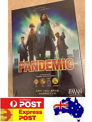 Pandemic Board Game, International Awards Winners Game, AU Stock