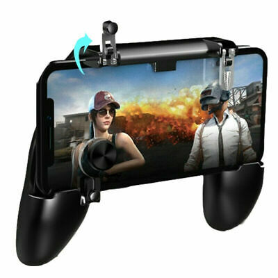 Mobile Game Controller Trigger Joystick Holder for PUBG iPhone X 8 Plus Android
