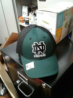 brand new cb17c ec518 Notre Dame Fighting Irish Fitted Hat Cap Size Adult