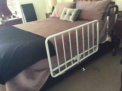 Adult drop side bed rail.provides support on the bedside .Easy to install