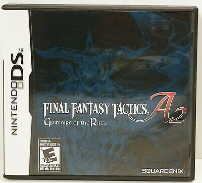 Final Fantasy Tactics A2: Grimoire of the Rift - Case / Manual GAME NOT INCLUDED
