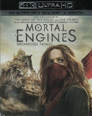 Mortal Engines (4K Ultra Hd/Bluray)(2 Disc Set)(Used)