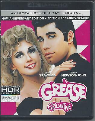 Grease (4K Ultra Hd/Bluray)(2 Disc Set)(Used)