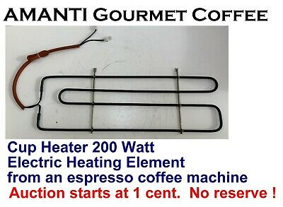BARGAIN NEW 200W Cup Heater ELEMENT from an Espresso Coffee Machine+Bonus AMANTI
