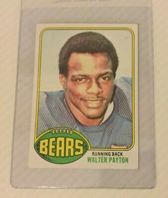 1976 Topps Walter Payton Rookie Card 148 Ex Hall Of